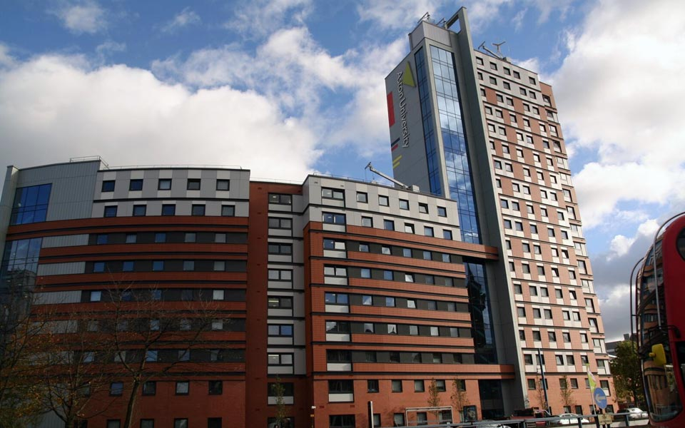 Commercial windows supplied for aston university building in Birmingham