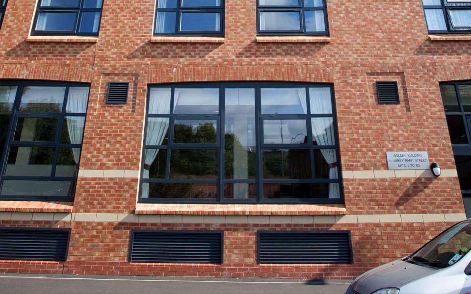 Commercial window screens