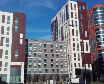 Tilt and turn windows supplied for Imperial College in London