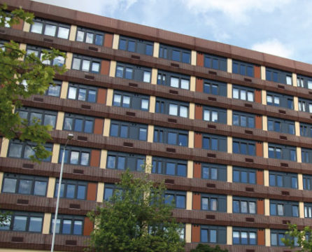 Trafford house apartments in Basildon with windows from Dempsey Dyer